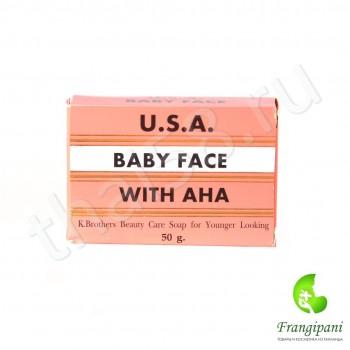 Омолаживающее мыло Baby Face с фруктовыми кислотами