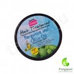 Маска с бергамотом и оливковым маслом для жирных волос