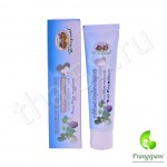 Коричневая травяная зубная паста с мангостином Абхай 70 г